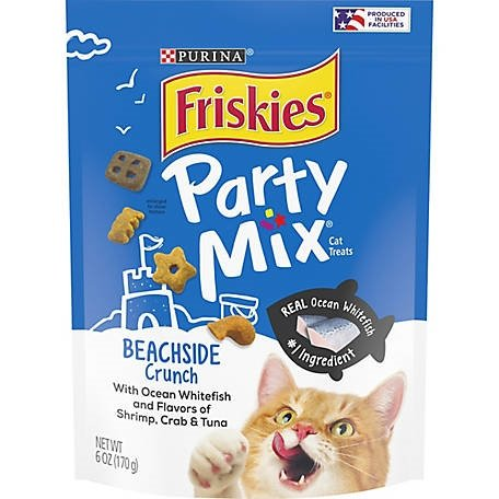 Friskies Party Mix USA Crunch Beachside 170g (6oz)