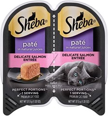 Sheba Perfect Portions Paté Salmon 37.5gx2
