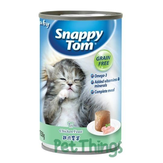 Baby Snappy Tom Chicken Feast 150g