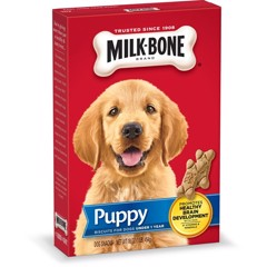 Milk-Bone Original Puppy Biscuit Dog Treats, 16-oz (454g)