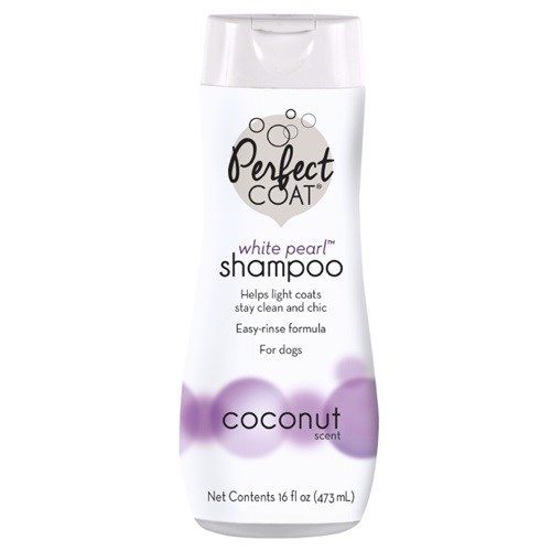 Perfect Coat Dog Shampoo White Pearl, Coconut 473ml