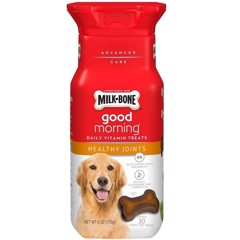 Milk-Bone Good Morning Healthy Joints Daily Vitamin Dog Treats 170g (6oz)