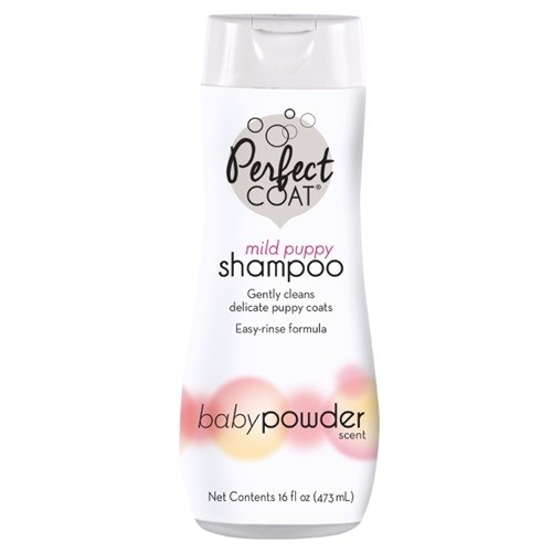 Perfect Coat Mild Puppy Shampoo Baby Powder 473ml