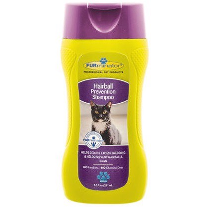FURminator Hairball Prevention Shampoo For Cats 251ml