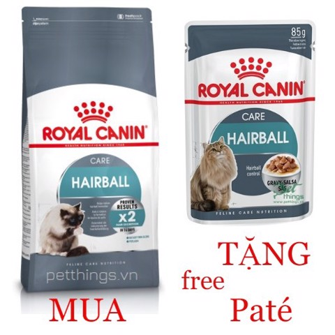 Combo Royal Canin Hairball Care 400g + Hairball Care 85g