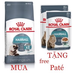 Combo Royal Canin Hairball Care 2kg + 2 Hairball Care 85g