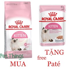 Combo Royal Canin Kitten 36 400g + Kitten in Loaf 85g