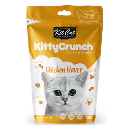 KitCat Kitty Crunch Chicken 60g