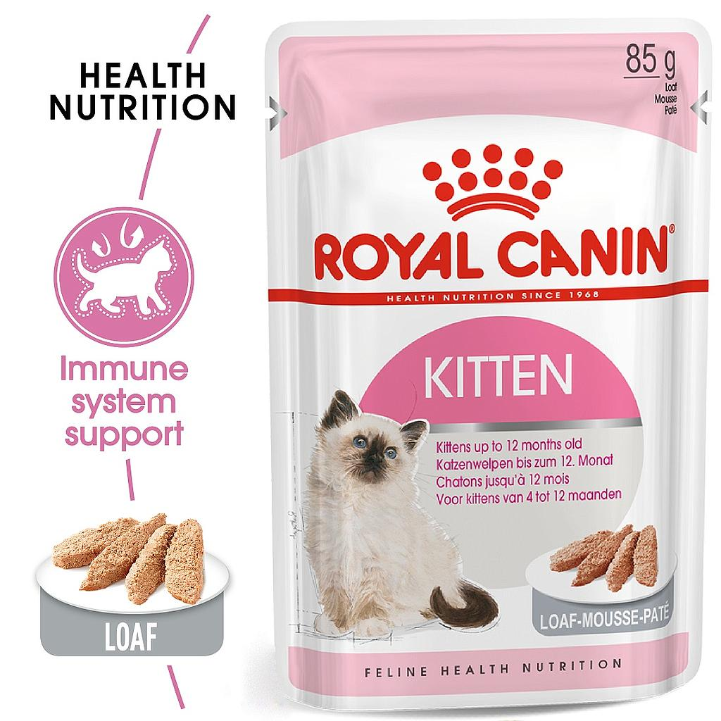 Royal Canin Kitten Instinctive in Paté (loaf) 85g