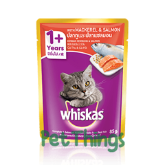 Whiskas Mackerel & Salmon 85g