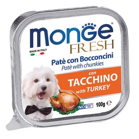 Monge Fresh Turkey 100g