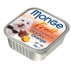 Monge Fruit Duck & Orange 100g
