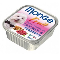 Monge Fruit Chicken & Raspberry 100g