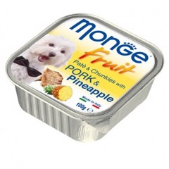 Monge Fruit Pork & Pinapple 100g