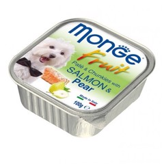 Monge Fruit Salmon & Pear 100g