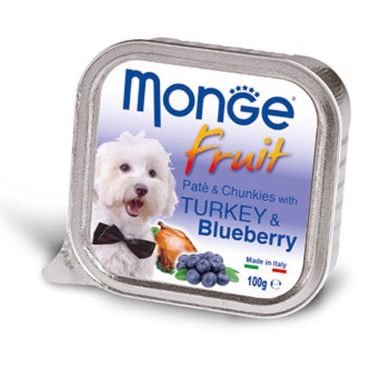 Monge Fruit Turkey & Blueberry 100g