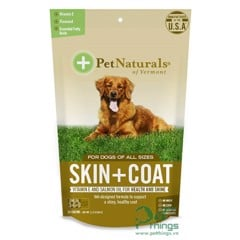Pet Naturals Skin + Coat for Dogs 30 viên