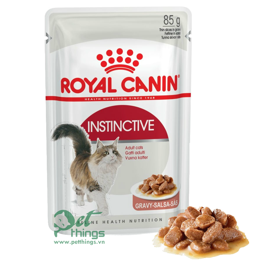 Royal Canin Adult Instictive in Gravy