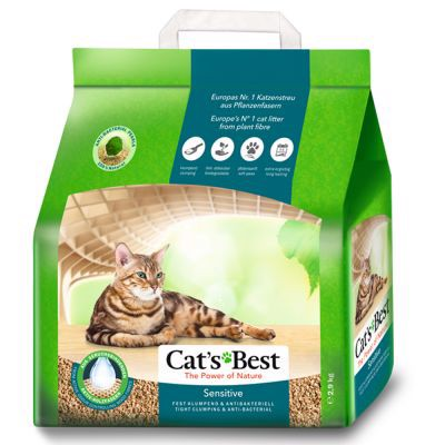 Cat's Best Sensitive 8L clumping (2.9kg)