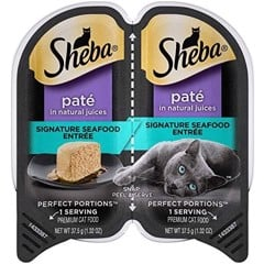 Sheba Perfect Portions Grain Free Paté Signature Seafood 37.5gx2