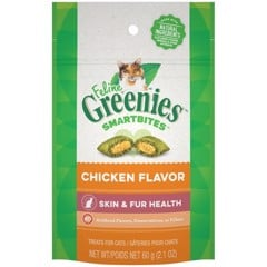 Feline Greenies Healthy Skin & Fur Chicken
