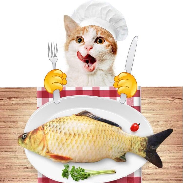 Cá nhồi catnip 40cm