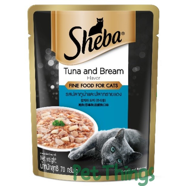 Sheba Tuna & Bream in gravy