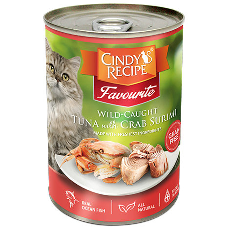 Cindy's recipe Tuna & Crab 400g