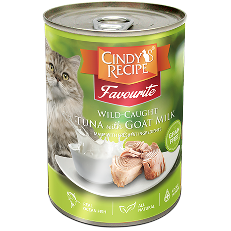 Cindy's recipe Tuna with Goat Milk 400g