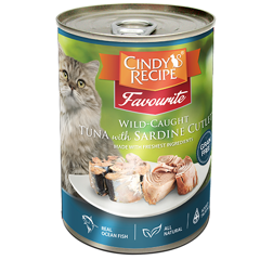 Cindy's recipe Wild-Caught Tuna With Sardine Cutlet 400g