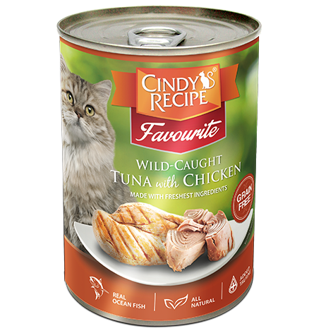 Cindy's recipe Tuna & chicken 400g