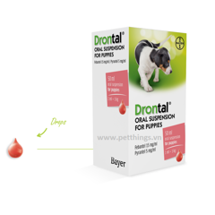 DRONTAL® ORAL SUSPENSION FOR PUPPIES