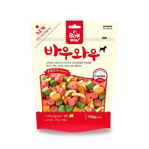 Bow Wow Snack hỗn hợp 150g MX-MS-150