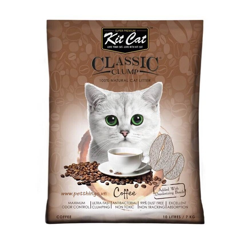 Kit Cat Clumping Coffee 10L