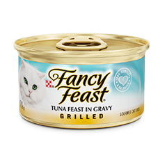Fancy Feast Grilled Tuna in gravy
