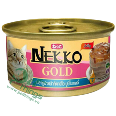 Nekko Gold Tuna topping Katsuobushi in jelly 85g
