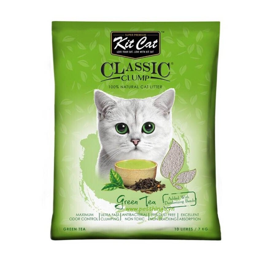 Kit Cat Clumping Green Tea 10L