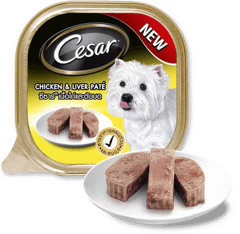 Cesar Chicken & Liver 100g