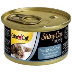 GimCat ShinyCat in Jelly Tuna With Shrimp 70g