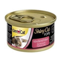 Gimcat ShinyCat in jelly Chicken with Crab 70g