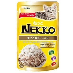 Nekko Tuna topping Shirasu 70g