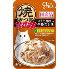 Ciao 50g IC-236 grilled tuna flake topping scallop Japanese