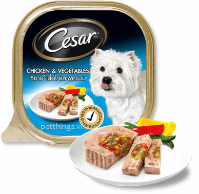 Cesar Chicken & Vegetable 100g