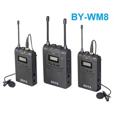 BOYA UHF WIRELESS BY-WM8