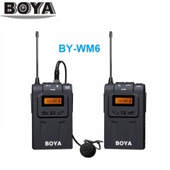 MICRO BOYA UHF Wireless BY-WM6
