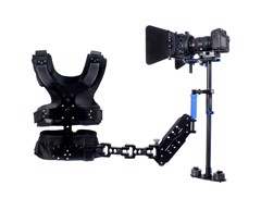 Vest arm Wondlan video camera stabilizer