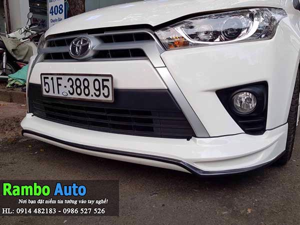 BODY KIT XE YARIS 2018