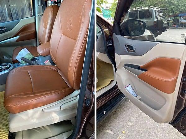 Tư vấn bọc ghế da ô tô tại nhà ở Hà Nội