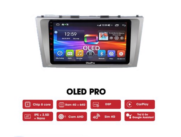 Màn Hình Android Oledpro S500 Camry 2007-2011
