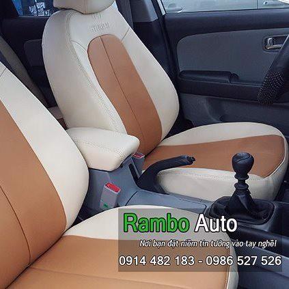 Bọc ghế da phối màu xe Hyundai Avante